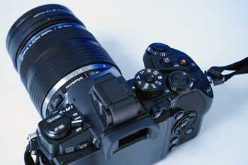 Klassische Spiegelreflexkamera